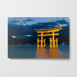 Itsukushima Shrine Metal Print