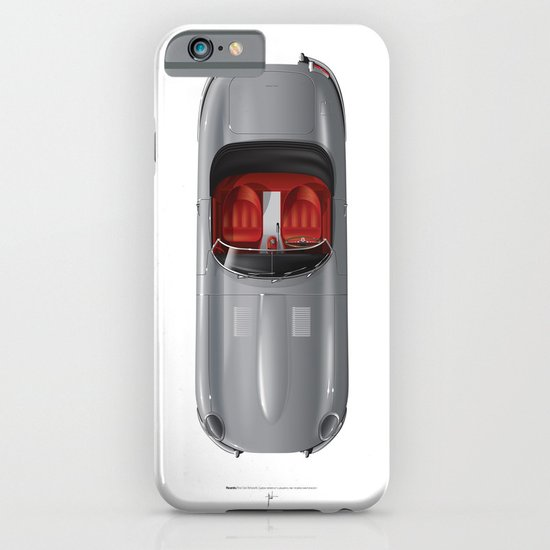 Classic Series N.º1, Jaguar E iPhone & iPod Case