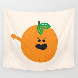 Vulgar Fruit // Obscene Orange Wall Tapestry