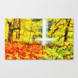 Cascata Canvas Print