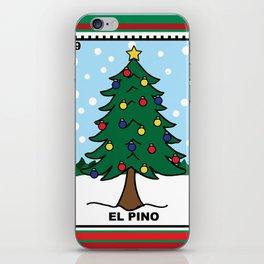 Christmas Loteria El Pino iPhone Skin