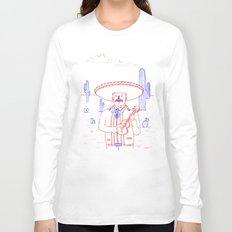 Mariachi in the Desert Long Sleeve T-shirt