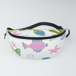 On The Bottom of The Sea Fanny Pack
