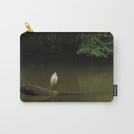 White Bird Carry-All Pouch