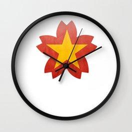 Vietnamese Week (W) Wall Clock