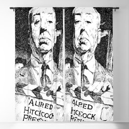 Alfred Hitchcock Presents Blackout Curtain