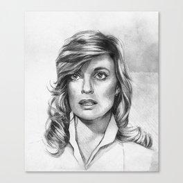 Sue Ellen Ewing Canvas Print