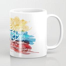 Te amo-Me amas Venezuela Coffee Mug