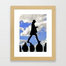 Radical Feminism Concept Illustration Framed Art Print