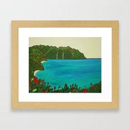 Kakalina Kauai  Framed Art Print