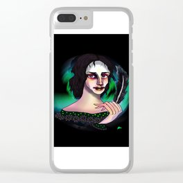 Mary Shelley Clear iPhone Case