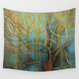 Winter Sun Wall Tapestry