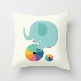 Beautiful Ride Throw Pillow