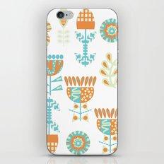 Flowers 7Q2 iPhone & iPod Skin