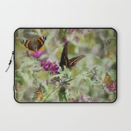 Butterfly Echoes Laptop Sleeve