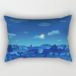 Fairytale Dreamscape Rectangular Pillow