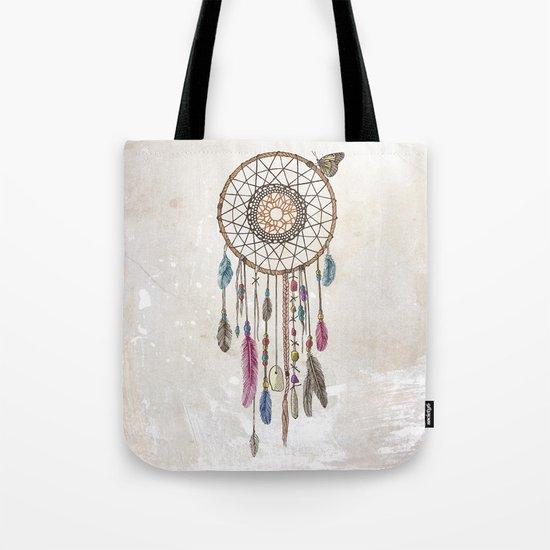 Lakota (Dream Catcher) Tote Bag