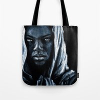 african Tote Bags featuring African by elenachukhriy
