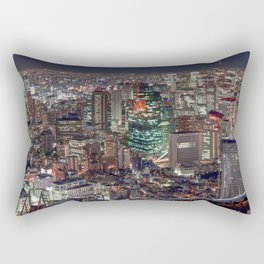 Tokyo By Night Rectangular Pillow