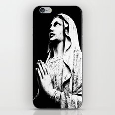 Pray over me iPhone & iPod Skin