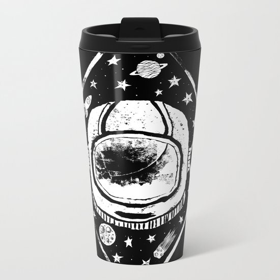 Space Traveller Metal Travel Mug