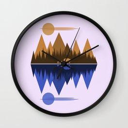Bear & Cubs Wall Clock