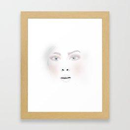 Face it Framed Art Print