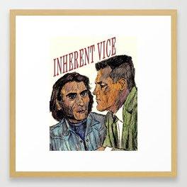 Inherent Vice Framed Art Print