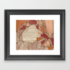 Vegetation Framed Art Print