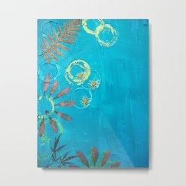 Nature Blue Metal Print