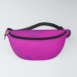 Valentines Day Purple Heart Glitch Pattern Fanny Pack