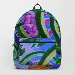 Spring Time By Adam France Backpack