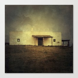 Cabo Polonio House Canvas Print