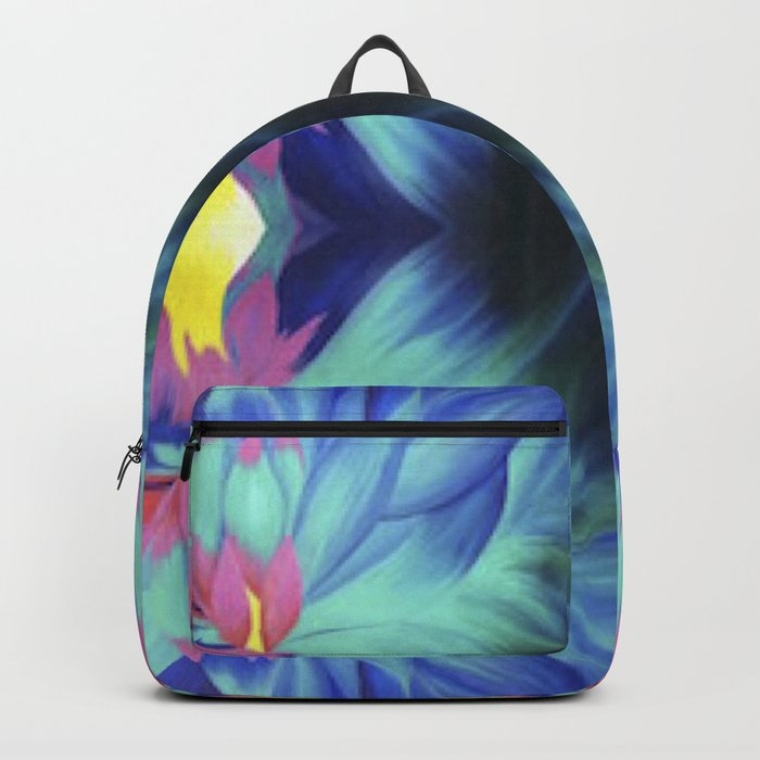Trippy Flower Backpack