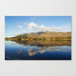 Skiddaw Reflections Canvas Print