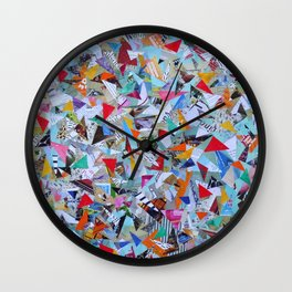 Triangle Galore Wall Clock