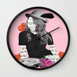 Music under my skin Wall Clock