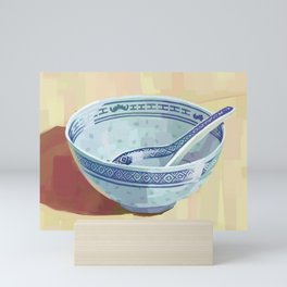The Bowl You Grew Up With Mini Art Print