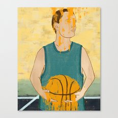 Losing my love for basketball Canvas Print