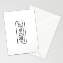#BillyandPat Wedding Stamp Stationery Cards