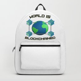 World is Blockchained Backpack