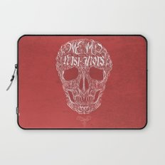 No One But Death (Shall Part Us) Laptop Sleeve