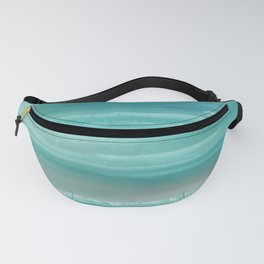 Turquoise Geode Fanny Pack