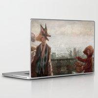 werewolf Laptop & iPad Skins featuring Werewolf by Yuko Rabbit