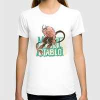 diablo T-shirts featuring Mount Diablo by Monica McClain