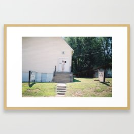 Sunday Best Framed Art Print