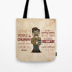 Ron Swanson 6 Tote Bag