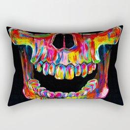 Chromatic Skull Rectangular Pillow