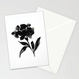 Elegant Ink Floral Stationery Cards