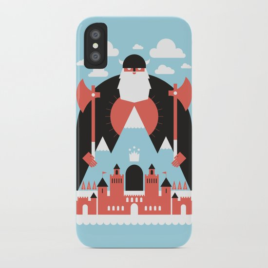 King of the Mountain iPhone Case